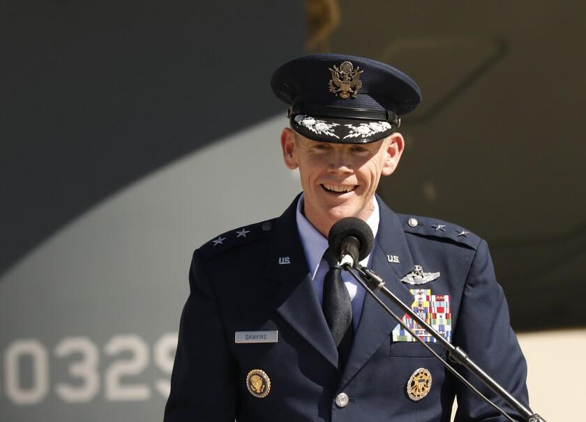 Air Force Major General James Dawkins Jr.