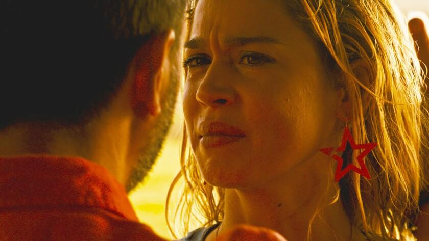 "Vincent Colombe and Matilda Lutz star in ""Revenge"" movie. CREDIT: Shudder/NEON"