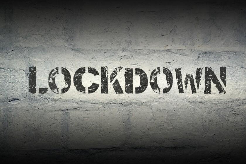 lockdown word gr