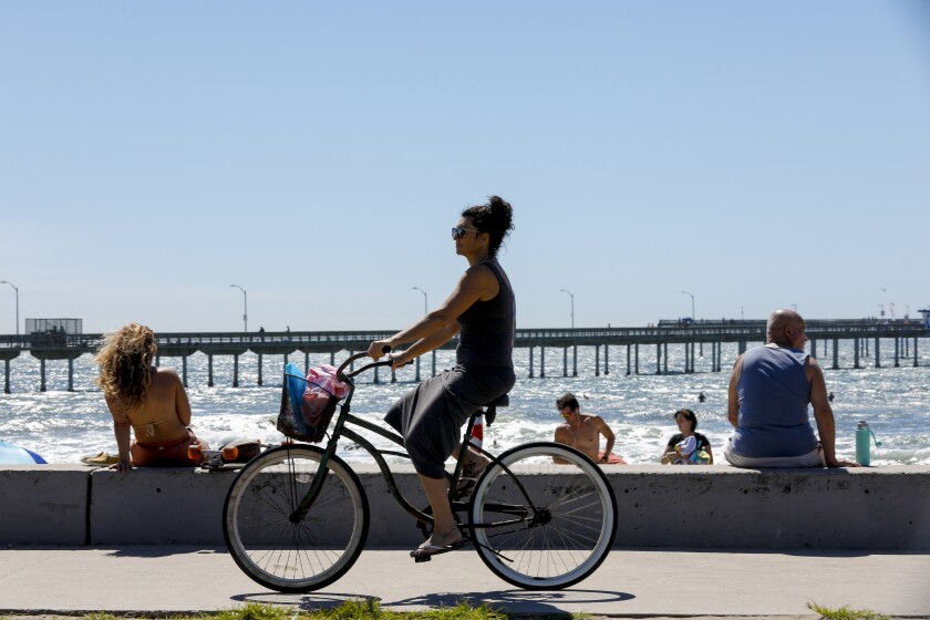 City of San Diego reopened all piers and boardwalks.