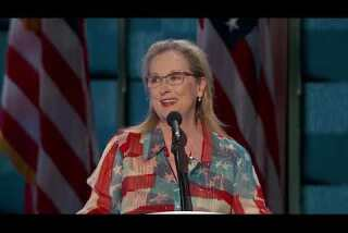 Patriotic, pro-history and pumped for Clinton: Watch Meryl Streep at the Democratic National Convention
