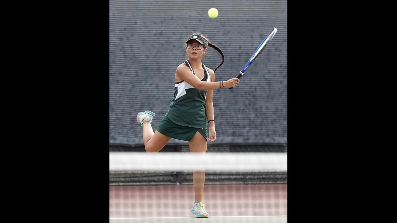 Photo Gallery: Costa Mesa vs. Estancia in girls' tennis