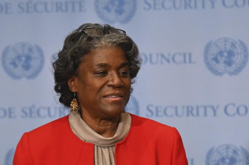 U.S. Ambassador to the United Nations Linda Thomas-Greenfield