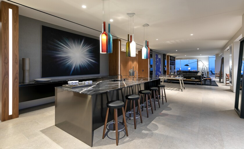 The Weeknd's penthouse at the Beverly West