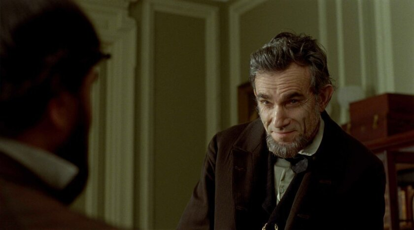 """Daniel Day-Lewis portrays the 16th president in the movie """"Lincoln."""" A Connecticut legislator has pointed out that the film incorrectly portrays his state's congressional representatives in 1864 as voting against the 13th Amendment, which outlawed slavery in the U.S."""