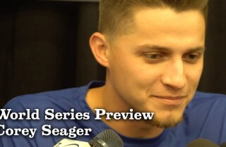 Corey Seager on returning from injury for the World Series
