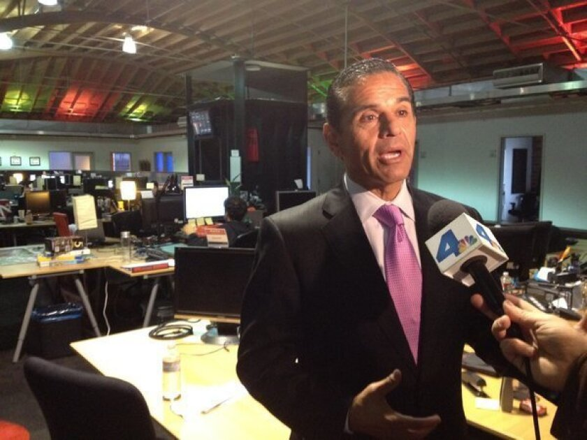 Mayor Antonio Villaraigosa discusses his plan to bring more attention and funding to the Los Angeles tech scene known as Silicon Beach.