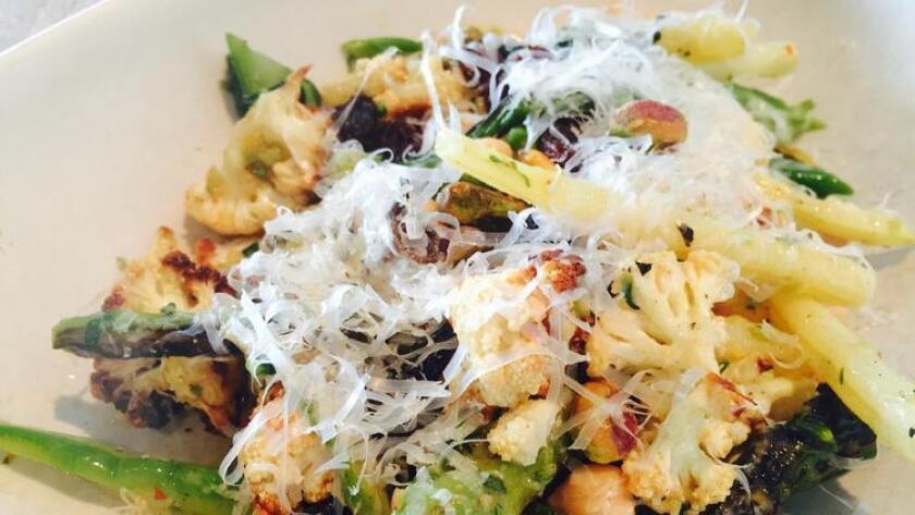 True Food Kitchen's spring vegetable salad (Liz Bowen)