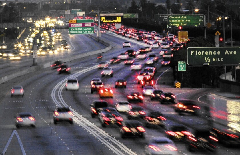 A bill vetoed by Gov. Jerry Brown would have allowed all motorists, outside of commuting hours, to use carpool lanes on the 134 Freeway from North Hollywood to Pasadena, and on the 210 Freeway from Pasadena to Glendora.