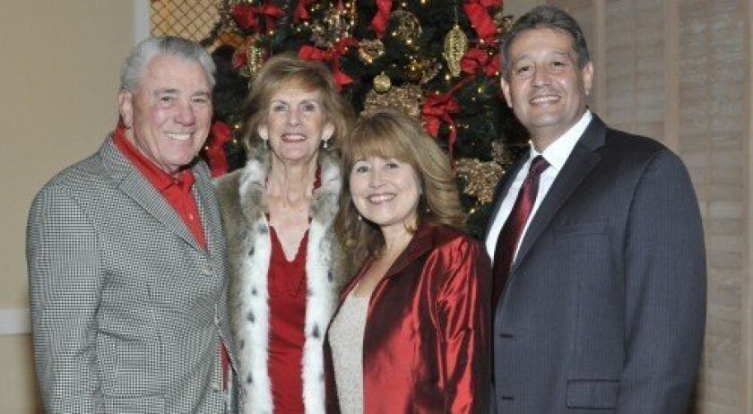 Vearl and Mary Ann Smith, Cary and Al Castro (Photos/McKenzie Images)