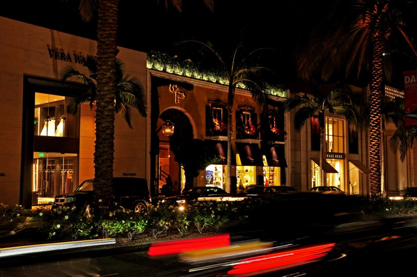 The House of Bijan store property on Rodeo Drive in Beverly Hills recently sold for $122 million, or $19,405-a-square foot, a new high-water mark for California retail real estate.