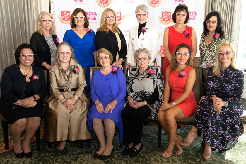 The 2021 Women of Dedication honorees.