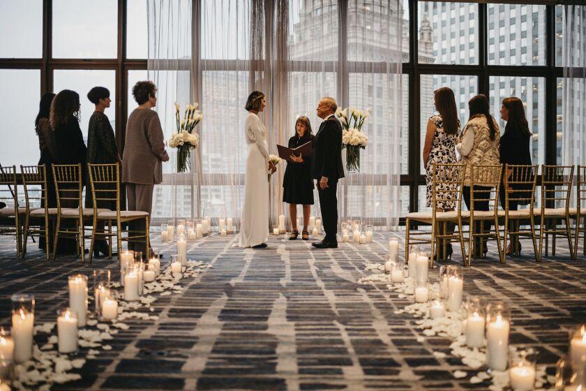 Virus Outbreak-Micro Weddings