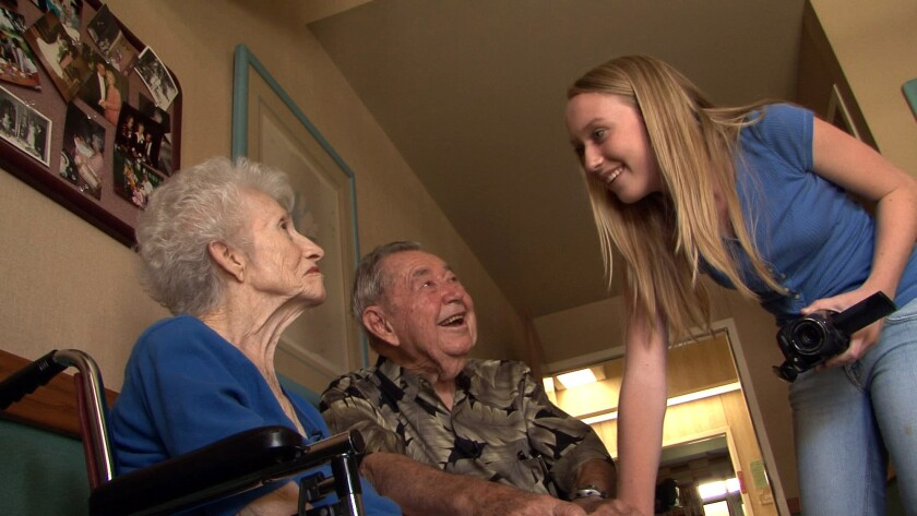 """THE ALZHEIMER'S PROJECT: """"GRANDPA, DO YOU KNOW WHO I AM?"""" WITH MARIA SHRIVER: Mary Frances Anderegg,"""