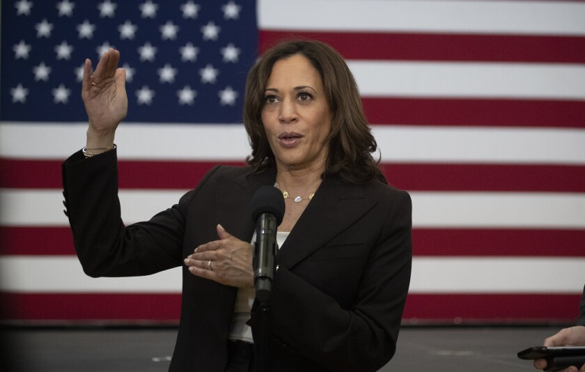 California Sen. Kamala Harris