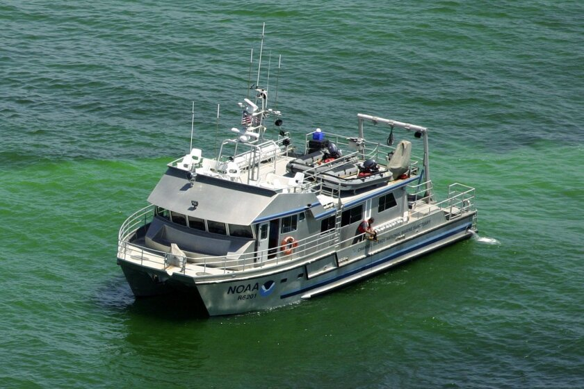SDSU will conduct part of its search for submerged cultural landscapes from aboard the NOAA research vessel Shearwater.