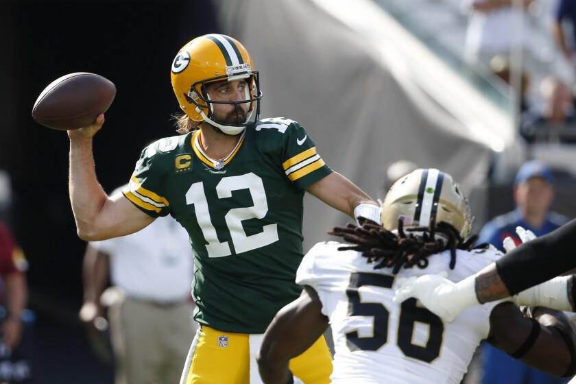 Packers listos para volver a trabajar tras desastroso inicio - San Diego  Union-Tribune en Español