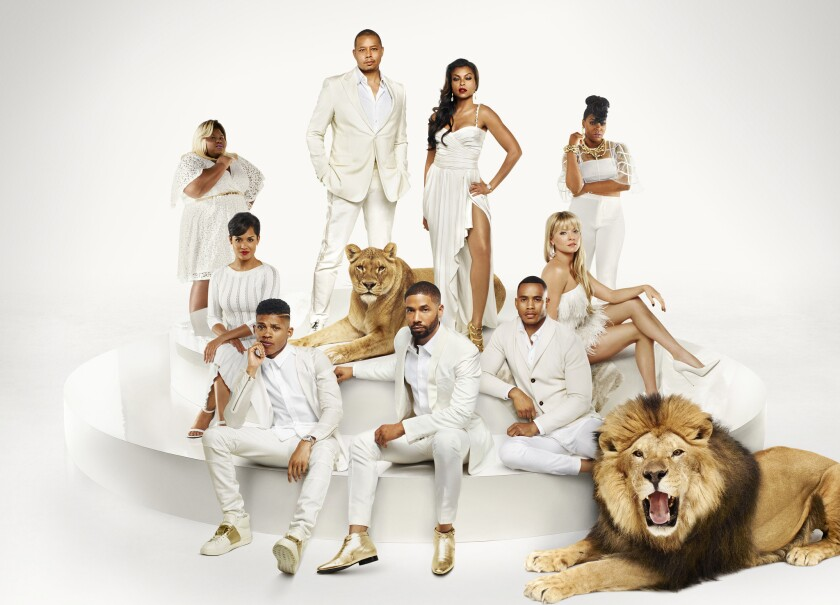 """The cast of """"Empire,"""" which premieres Wednesday night on Fox."""