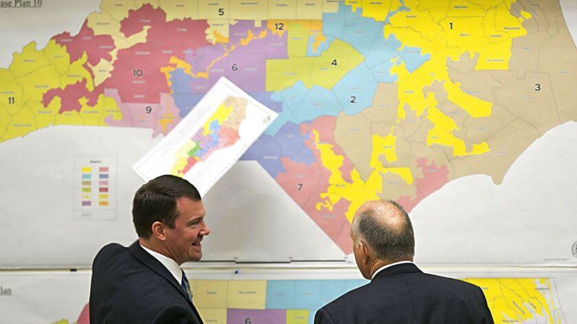 FILE - In this Feb. 16, 2016, file photo, Republican state Sens. Dan Soucek, left, and Brent Jackson