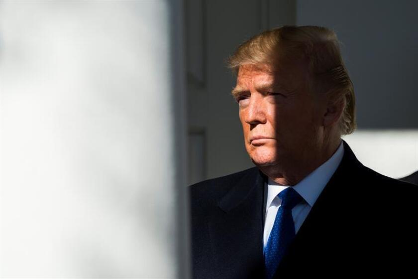 El presidente de los Estados Unidos, Donald Trump. EFE/EPA/Archivo