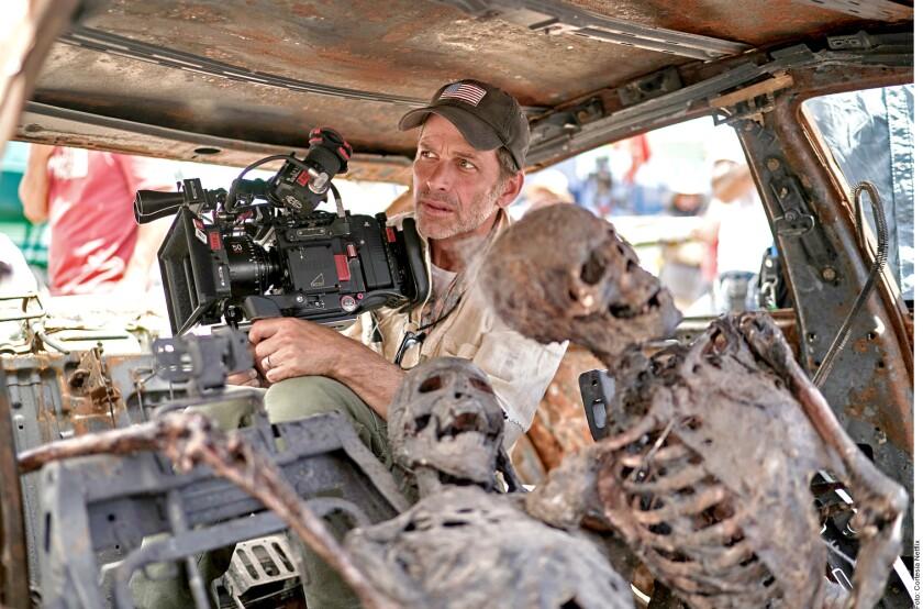 Zack Snyder mantiene en alerta a sus fans con su nuevo proyecto.