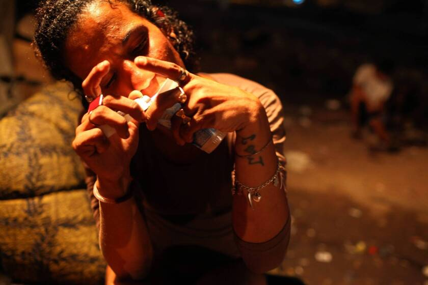In Brazil's <i>cracolandias</i>, roving hordes of lost soulsThe nation is grappling with what officials call a crack epidemic, affecting Brazilians of all ages and confounding government efforts to deal with it.