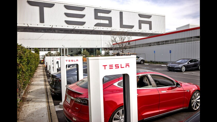 Tesla delivered 90,650 vehicles from its factory in Fremont, Calif., in the second quarter.