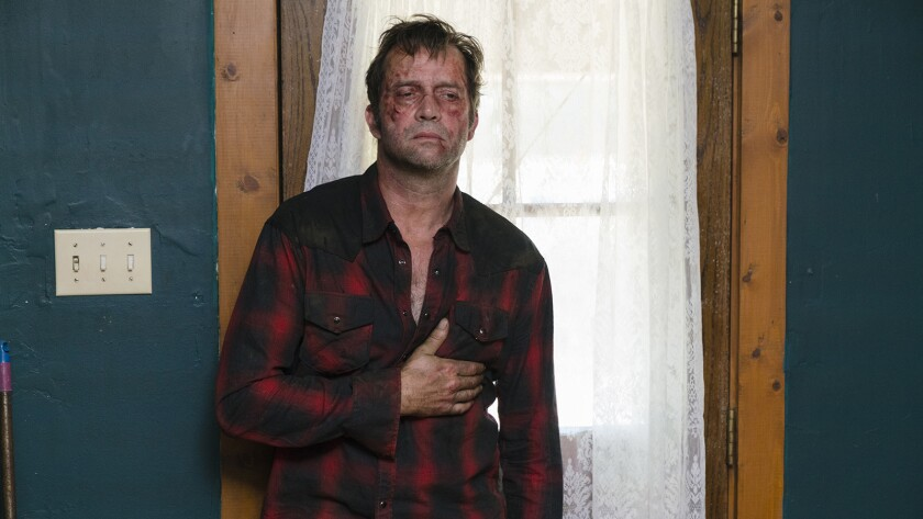"James Purefoy stars in a new season of the Texas-set mystery drama ""Hap and Leonard"" on SundanceTV."