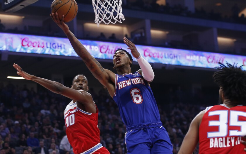 Knicks Kings Basketball