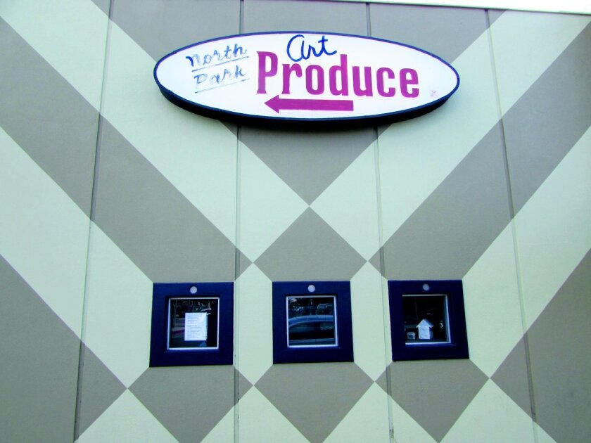 Exterior of the North Park Gallery, Art Produce