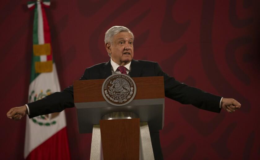 Mexican President Andrés Manuel López Obrador has not congratulated U.S. President-elect Joe Biden.