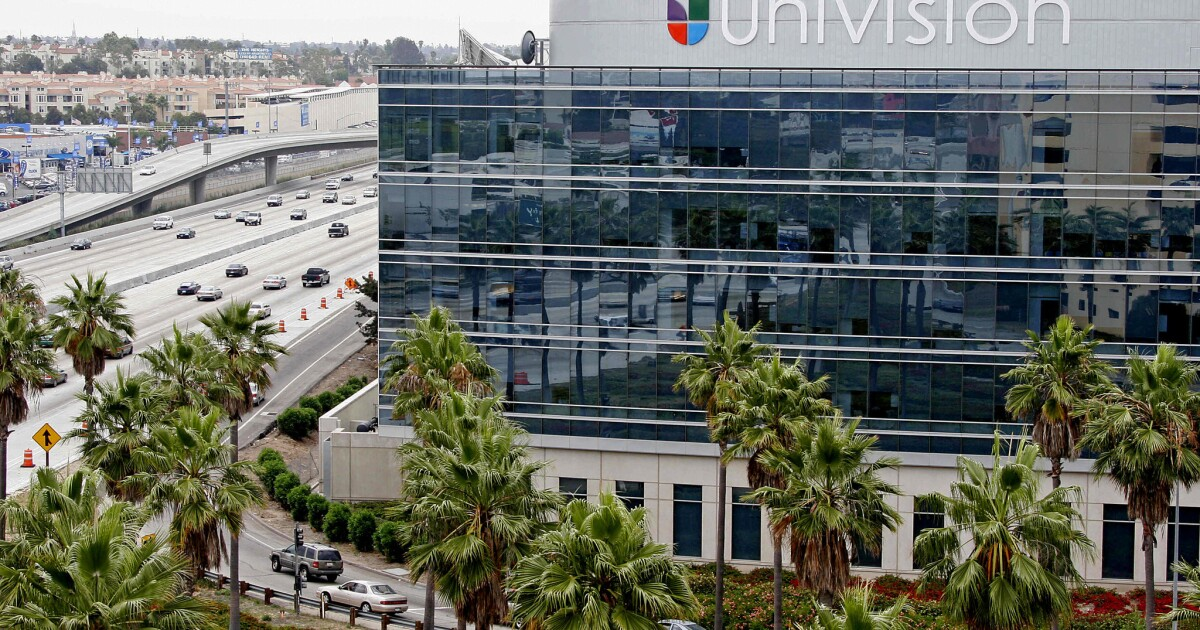 Spanish-language TV giant Univision launches streaming service as competition heats up