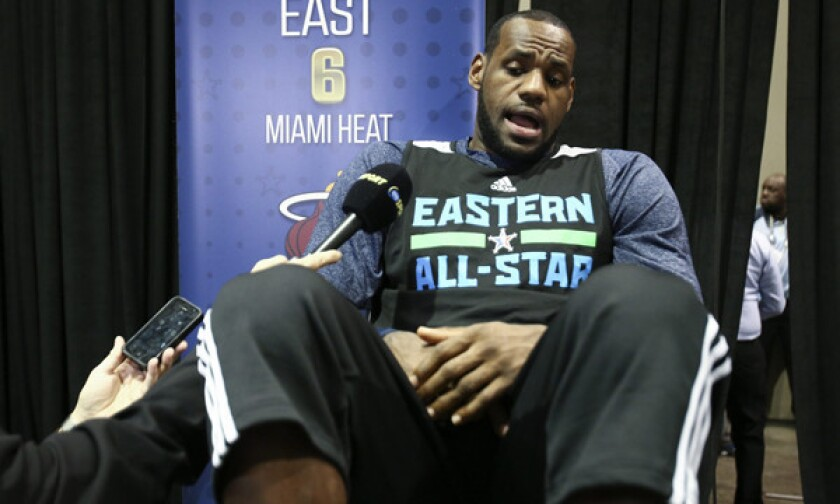 Nba Quotes Lebron James Mark Cuban Share Opinions Los Angeles Times