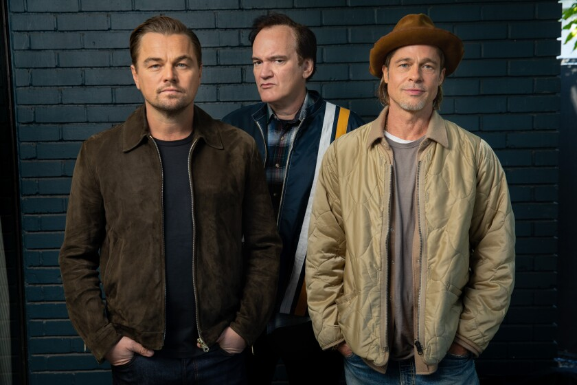 "Leonardo DiCaprio, Quentin Tarantino and Brad Pitt: Oscar nominees for ""Once Upon a Time ... in Hollywood."""
