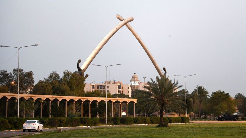 Iraq marking the 16th anniversary of the 2003 US-led invasion, Baghdad - 08 Apr 2019