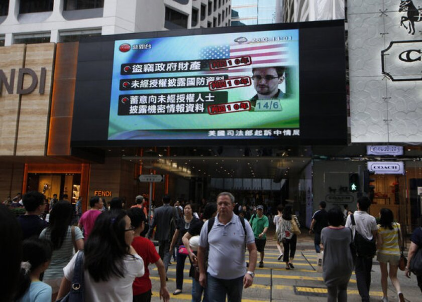 U.S. seeks Snowden extradition, urges Hong Kong to act 'soon'