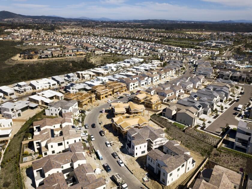 Homes in Carmel Valley.