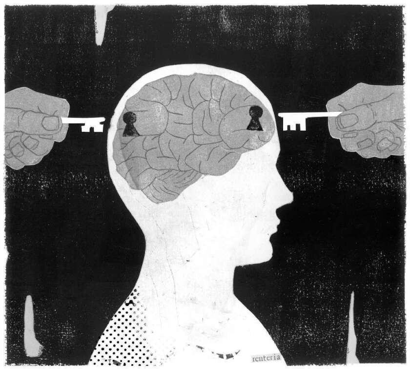 stress depression brain