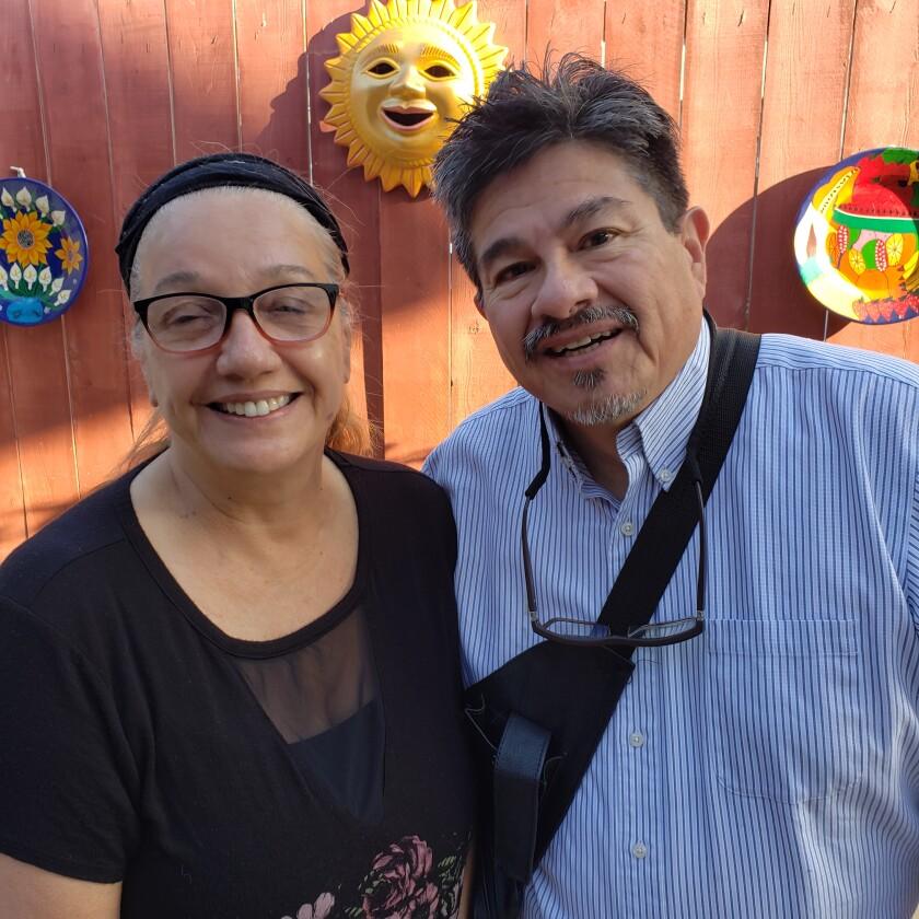 Mary Ann and Manny Aguilar