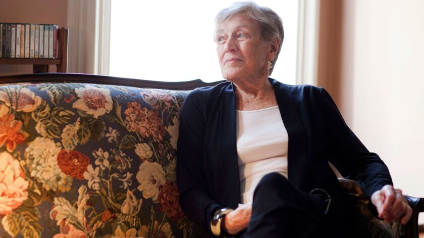 """Paula Fox, seen here in 2011, won the Newbery Medal in 1974 for """"The Slave Dancer."""""""