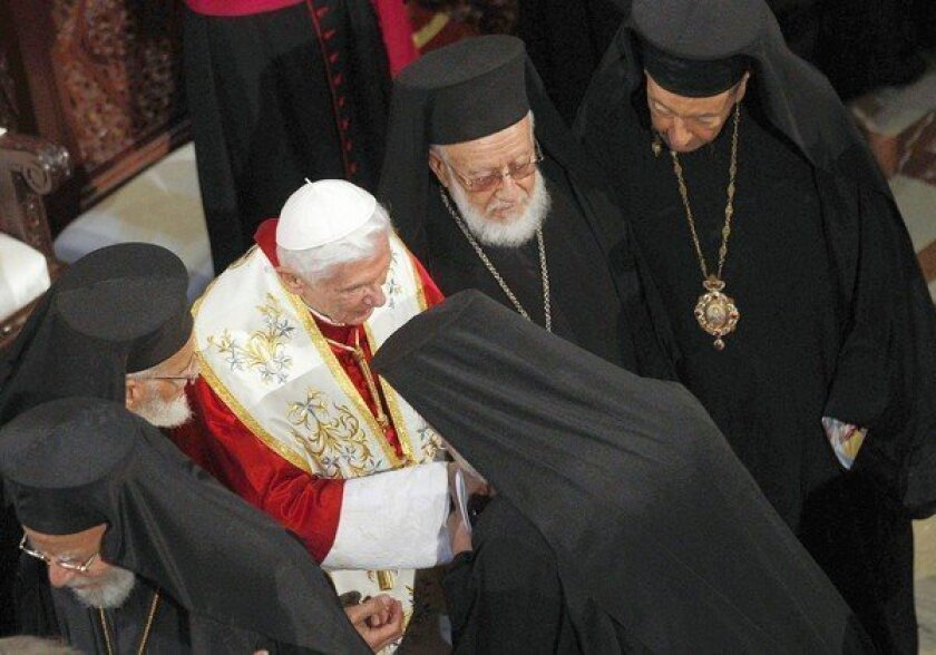 Visiting Lebanon, pope denounces arms transfers to Syria