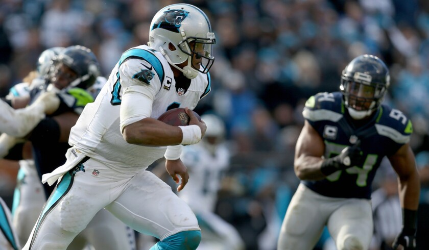 Cardinals respect Cam Newton's ability to run and will try to stop him