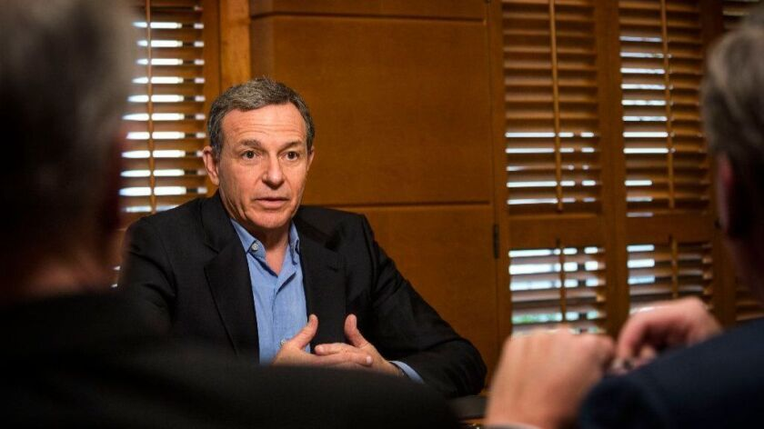 """Walt Disney Co. Chief Executive Robert Iger said the bonuses and higher education initiative """"will have both an immediate and long-term positive impact."""""""