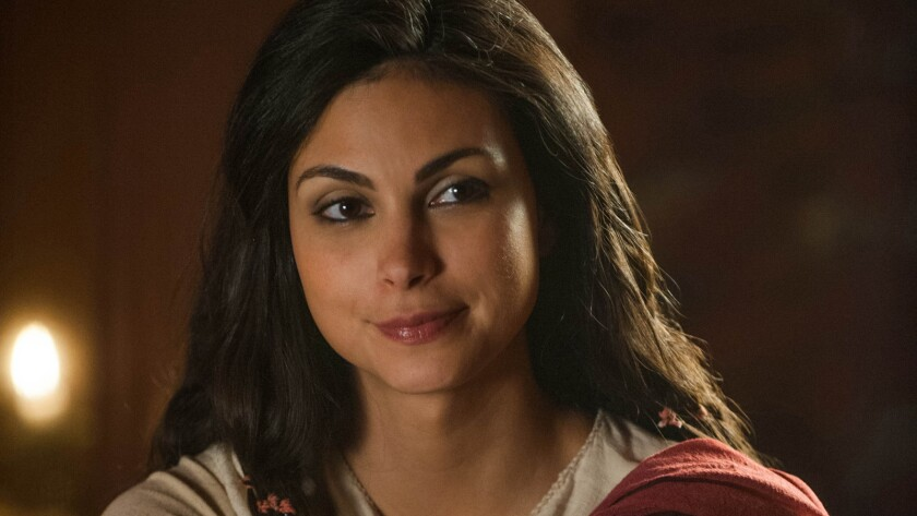 "Morena Baccarin costars in Lifetime's ""The Red Tent."""