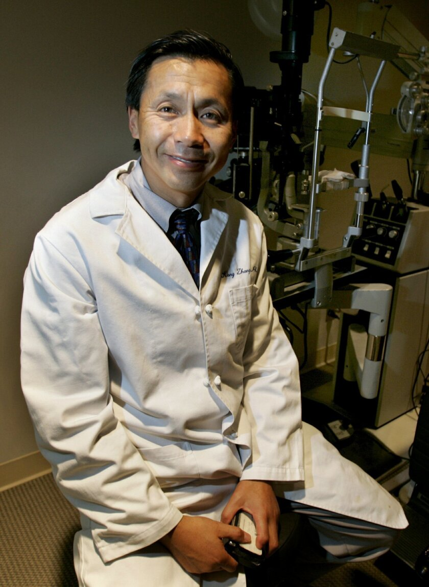 Dr. Kang Zhang is an ophthalmologist with the University of California San Diego's Institute for Genomic Medicine and Shiley Eye Center who also does stem cell research.