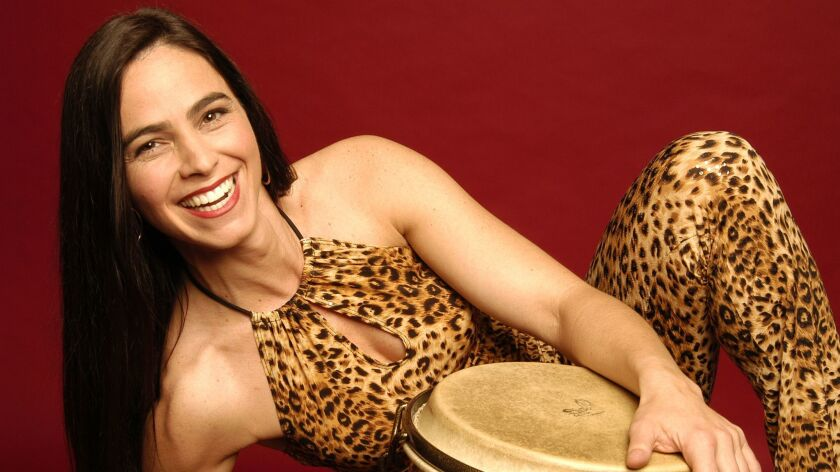 "Monette Marino wil be featured at the Jan. 25 ""Percussion Lovefest"" concert at Bread & Salt and the Jan. 27 ""The Roots of Rhythm"" concert at Copley Symphony Hall. Both are part of the ""It's About Time"" festival."