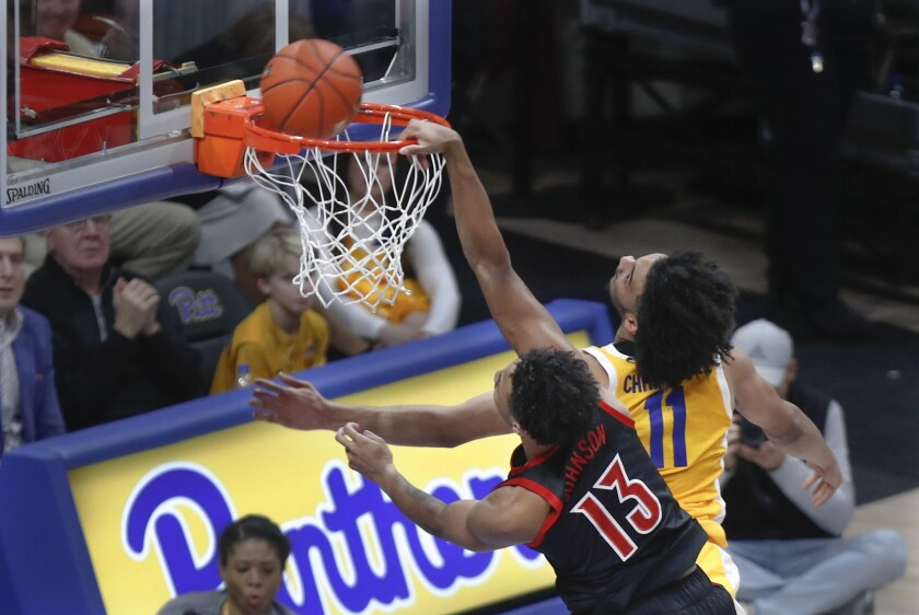 Louisville Pittsburgh Basketball