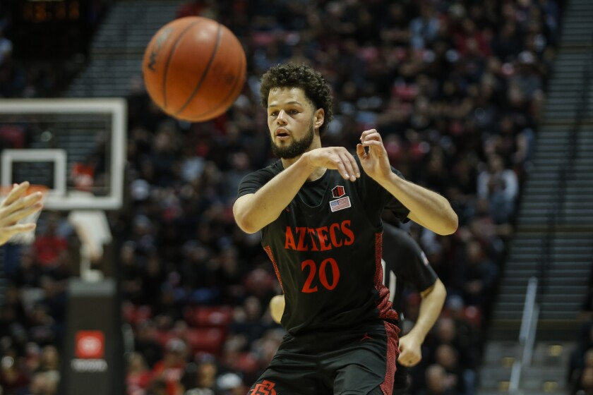 Jordan Schakel and SDSU's four other seniors can all return next season.