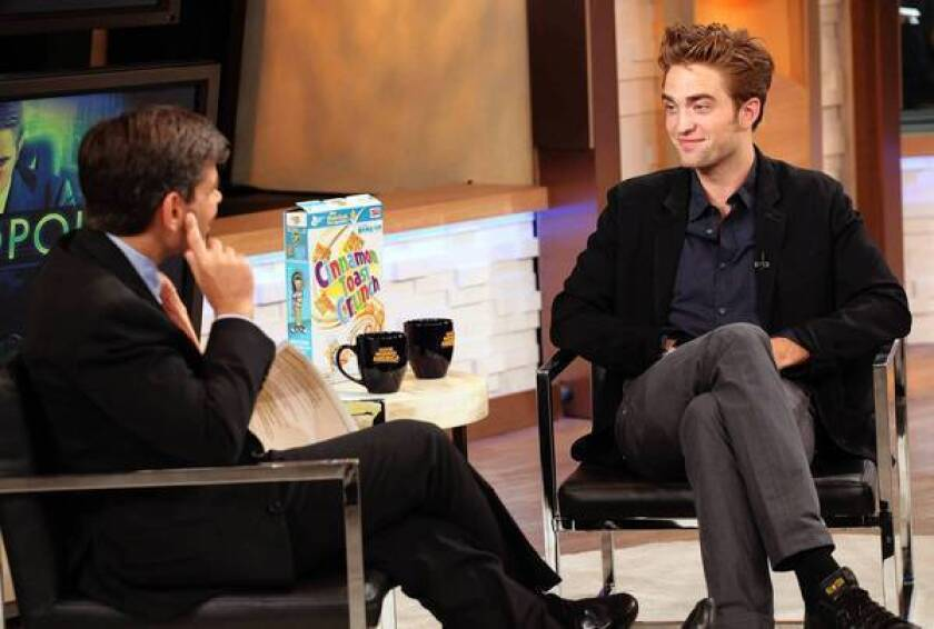 Robert Pattinson finds himself in a 'can't win' situation