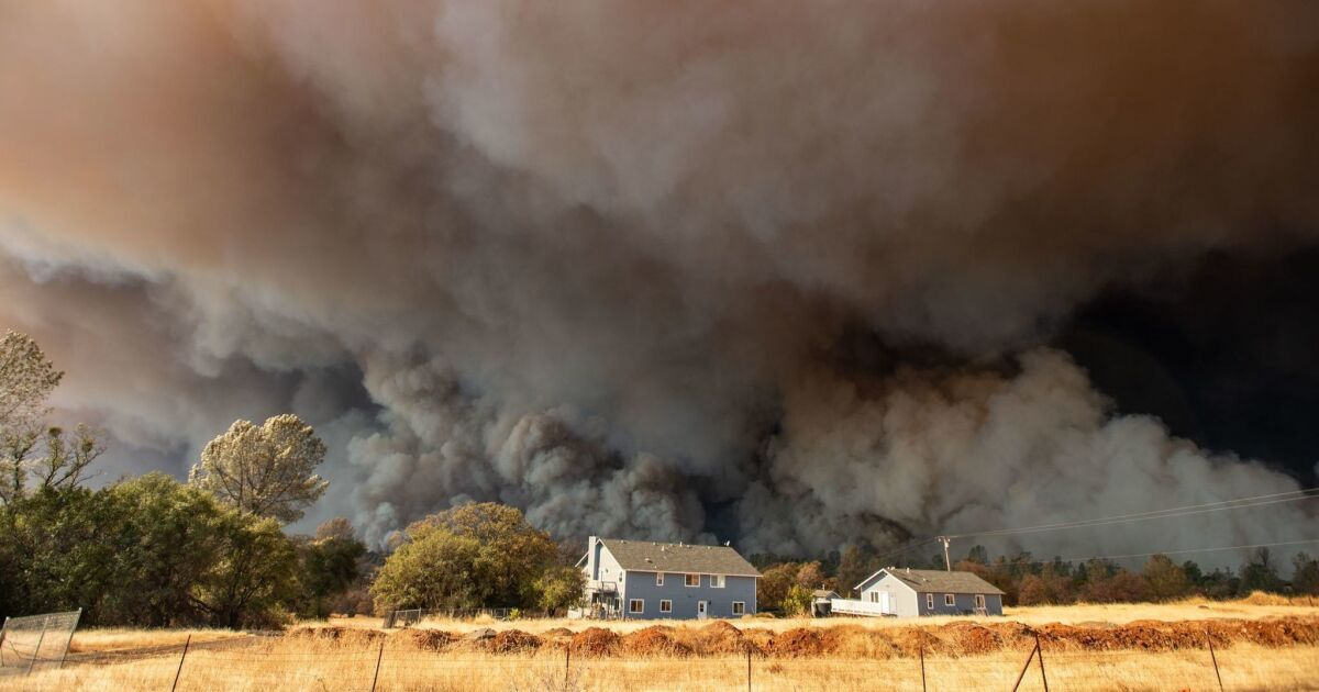 Waldbrände eine massive Bedrohung der kalifornischen Fortschritte bei der Verringerung der Treibhausgase, Bericht sagt